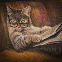 Tabby-cat-reading-newspaper-1