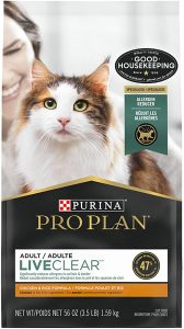 Allergic to cats? Purina's LiveClear dry food could help.